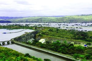 Le barrage Inga I.