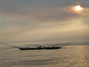 Pêcheurs sur le Lac Kivu
